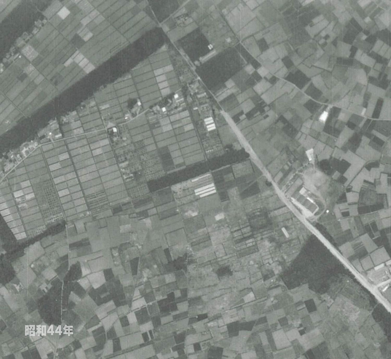 狭山工業団地工業会 航空写真(1969年)