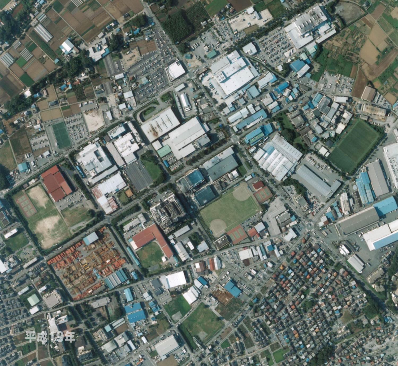 狭山工業団地工業会 航空写真(2007年)